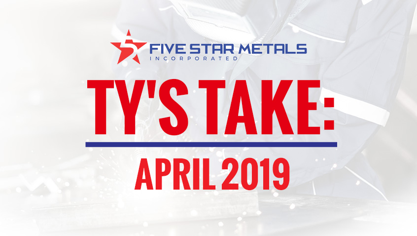 Video: Ty's Take April 2019